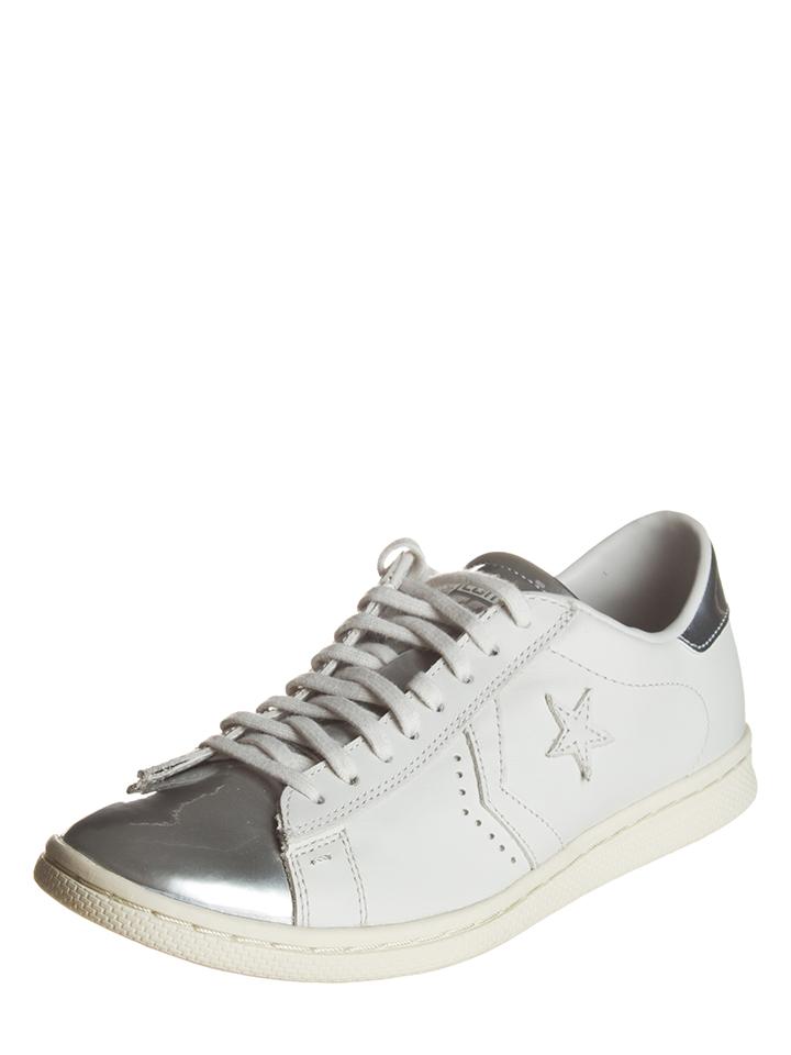 Converse Leder-Sneakers ´´Pro´´ in Weiß - 63%   Größe 40 Damen sneakers