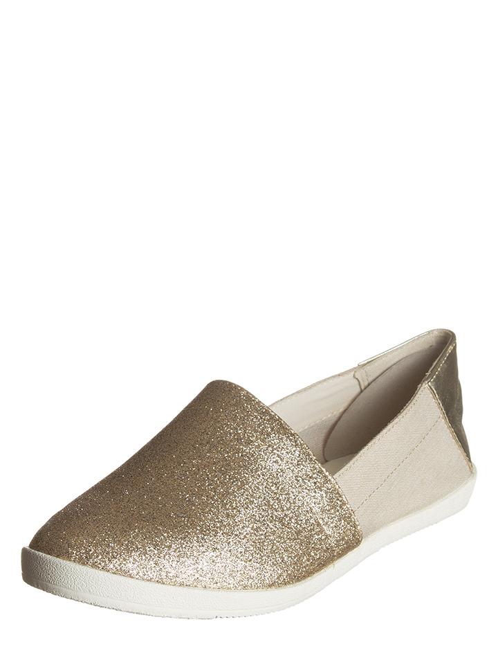 Vagabond Leder-Slipper ´´Lily´´ in gold -49 Größe 38 Slipper