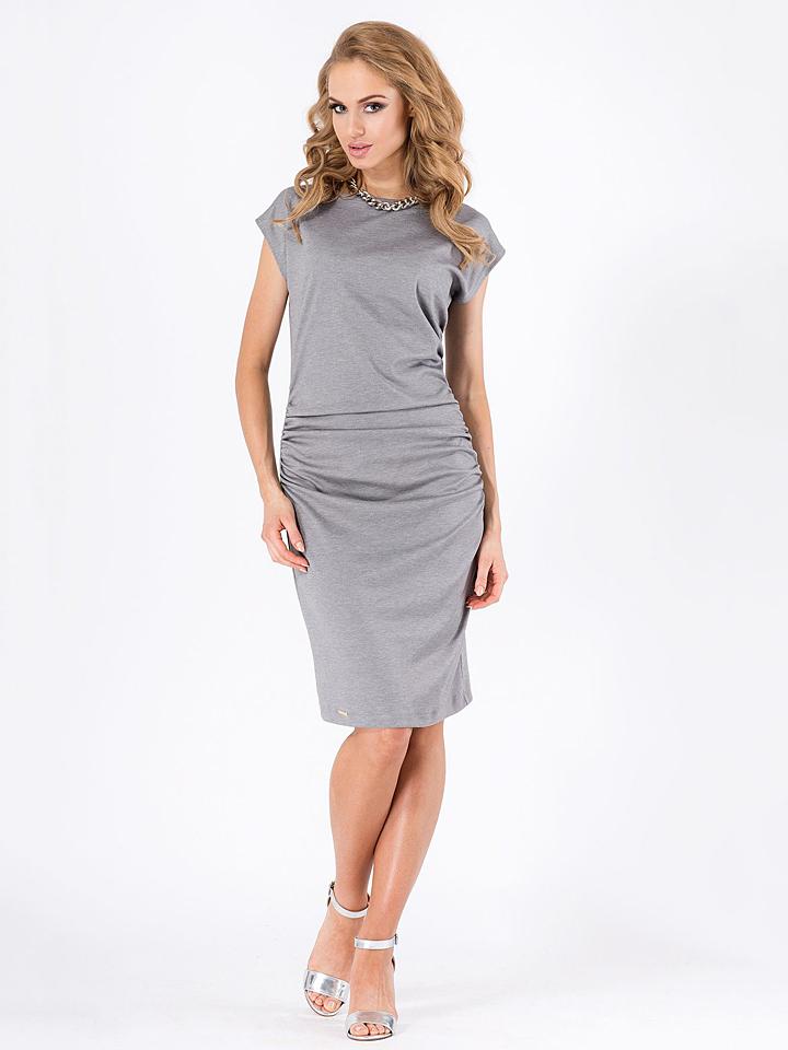 Makadamia Kleid in Grau -58%   Größe 36 Kleider Sale Angebote Hohenbocka