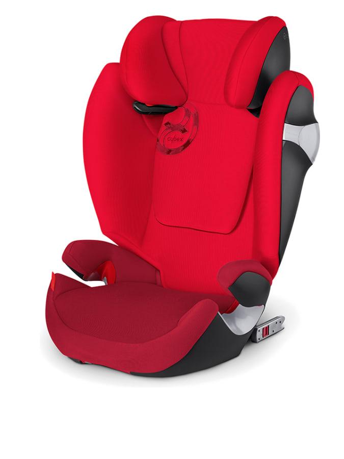 Kiekebusch Angebote Cybex Kindersitz ´´Solution M-Fix´´ in Rot - Gruppe 2/3 15% | Kinder autokindersitze
