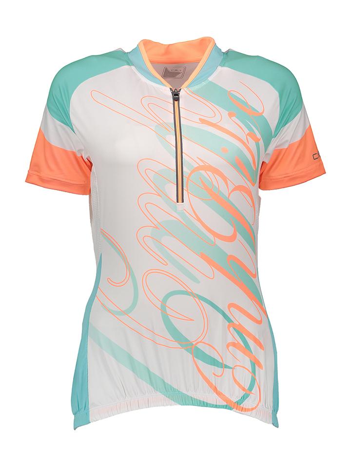 CMP Fahrradshirt in weiß -64% | Größe 46 T-Shirts Sale Angebote Wiesengrund