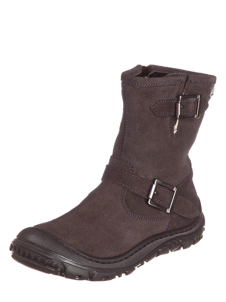 EB Shoes Leder-Stiefel in Braun -29% | Größe 34 Boots Sale Angebote Horka