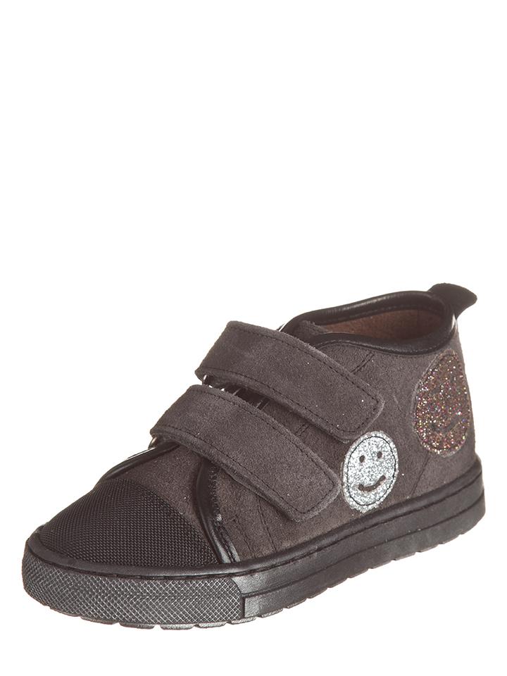 Billowy Leder-Sneakers in Schwarz -53% | Größe 31 Sneaker High Sale Angebote Wiesengrund