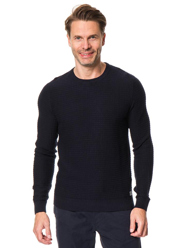 Tom Tailor Pullover in Dunkelblau - 53% | Größe 3XL Herren pullover strick