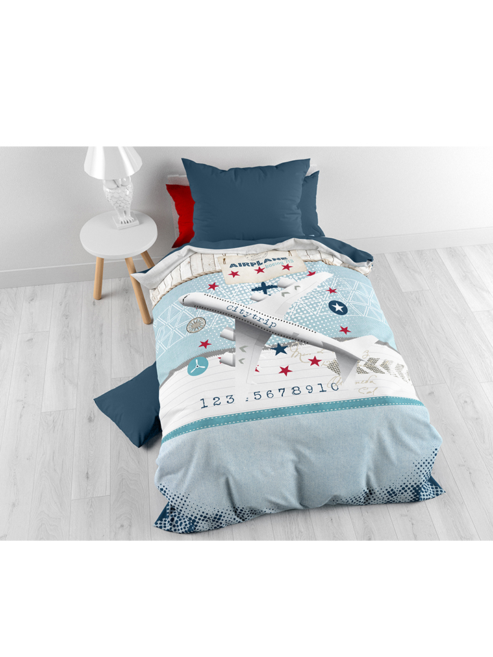 Dreamhouse Bedding Bettwäsche-Set ´´Airplane´´ ...