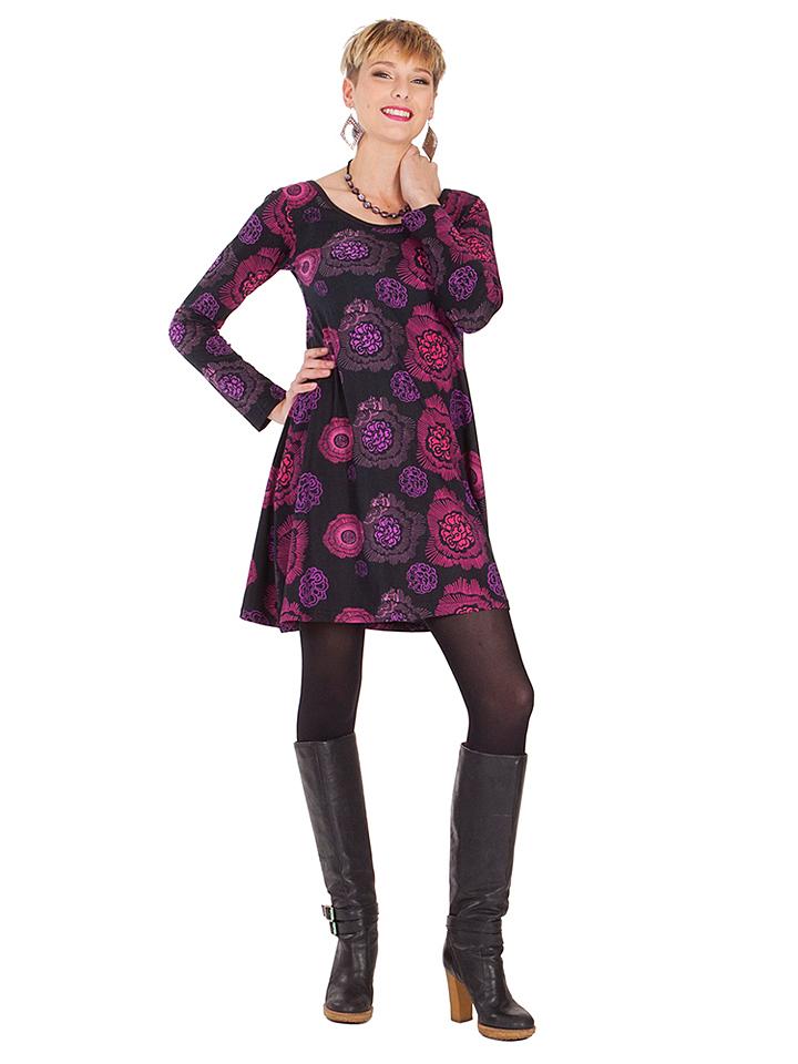 Aller Simplement Kleid in Schwarz - 54% | Größe 44 Damen kleider