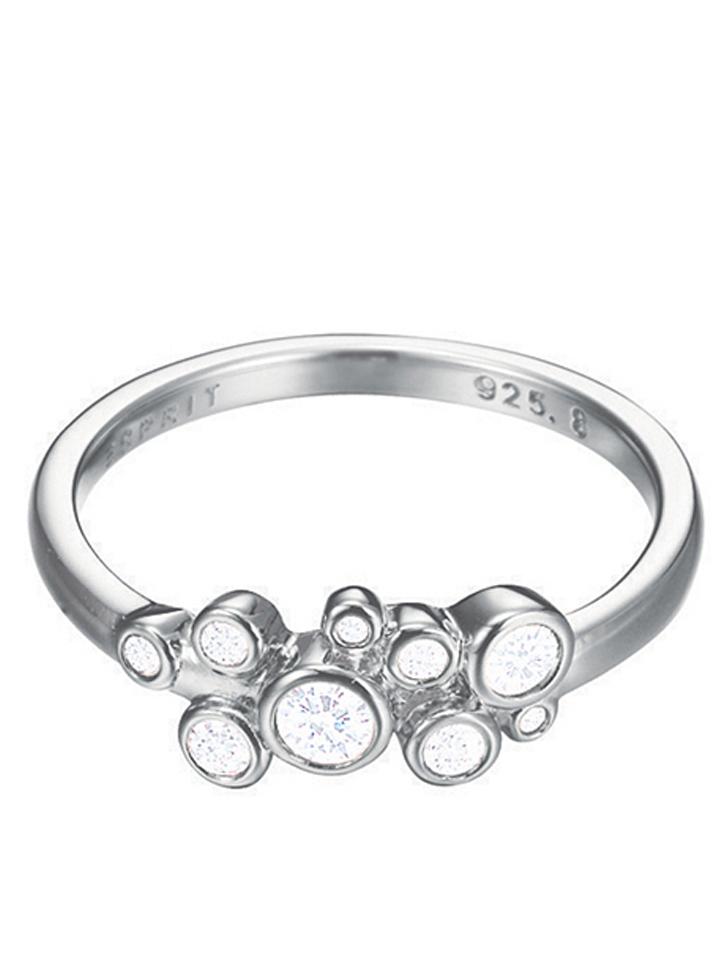ESPRIT Silber-Ring ´´Symphony´´ mit Zirkonias -53% | Größe 19 Ringe Sale Angebote Lieskau