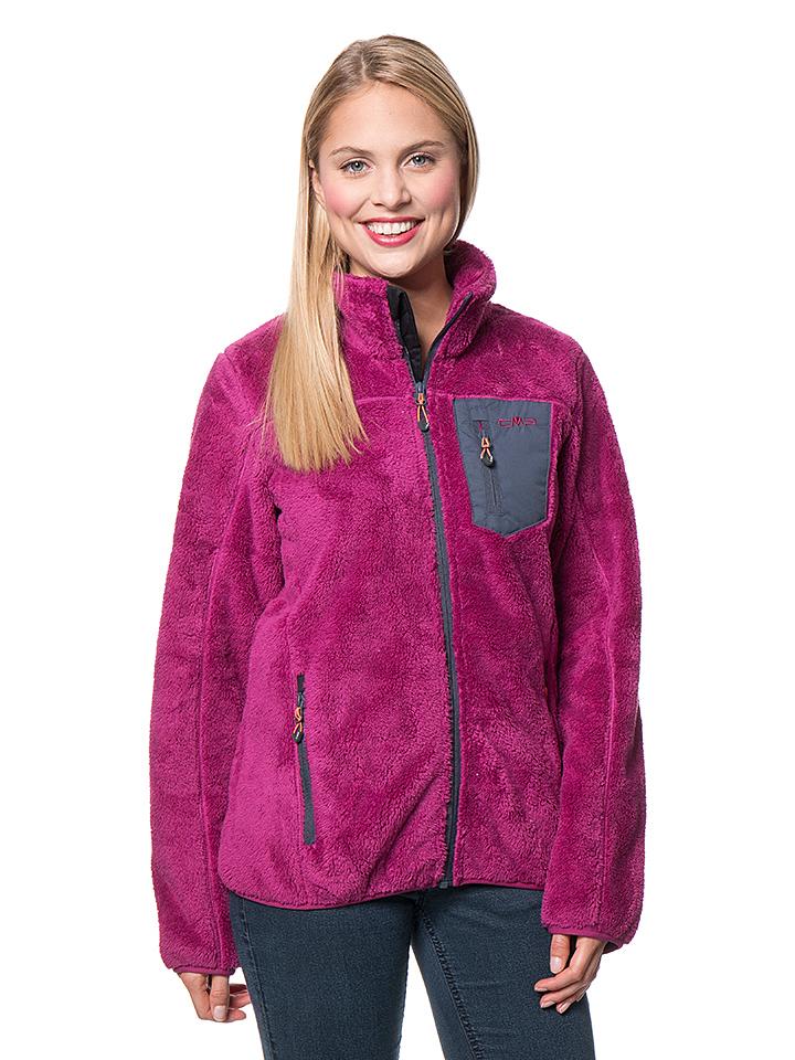 CMP Fleecejacke in Pink - 72% | Größe 38 Damen outdoorjacken