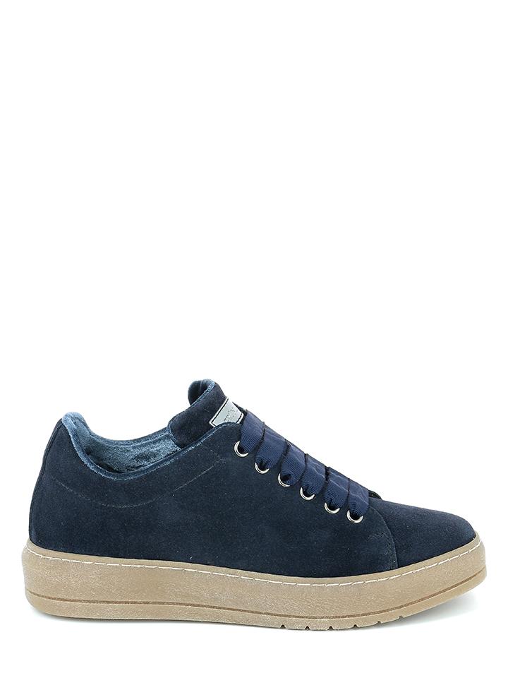 Grünland Leder-Sneakers in Blau - 41% | Größe 41 Damen sneakers