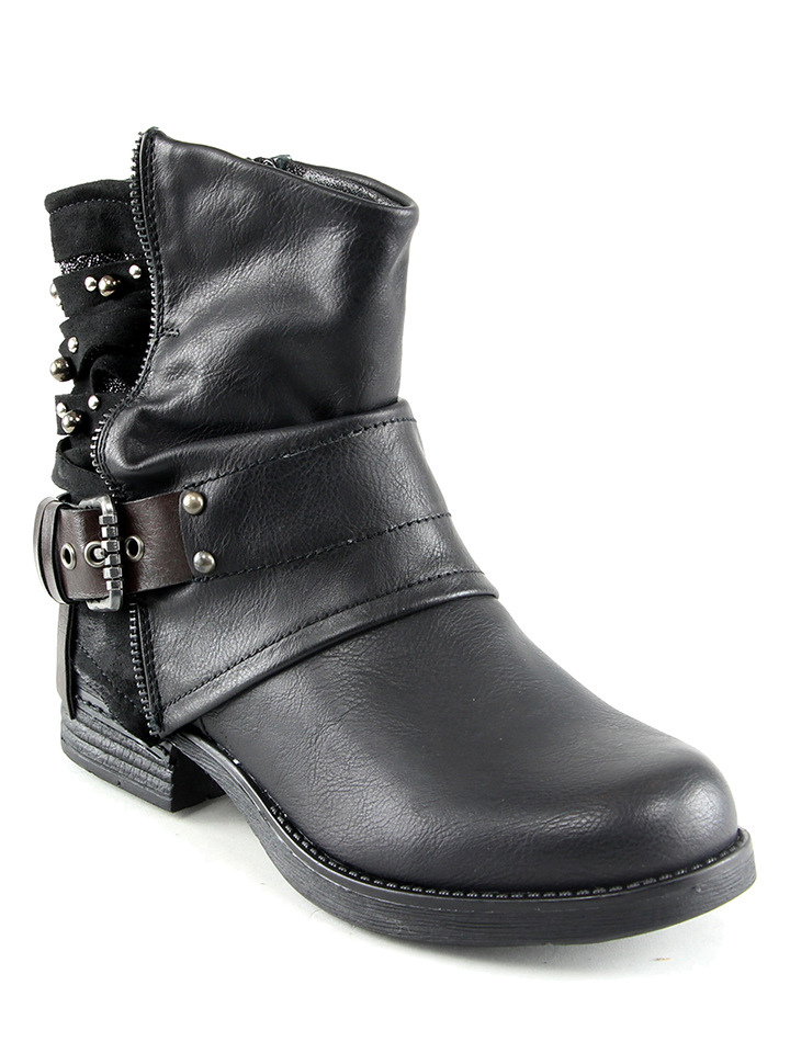 Sixth Sens Boots in Schwarz - 45% | Größe 40 Stiefeletten