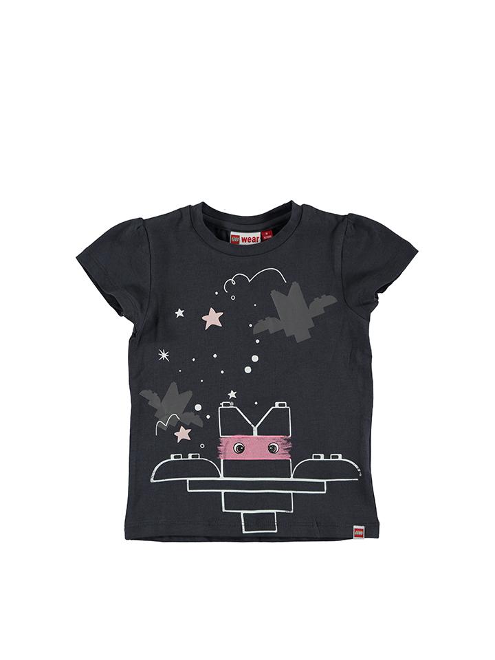 Legowear Shirt ´´Tia 602´´ in Dunkelgrau - 55% | Größe 92 Baby shirts