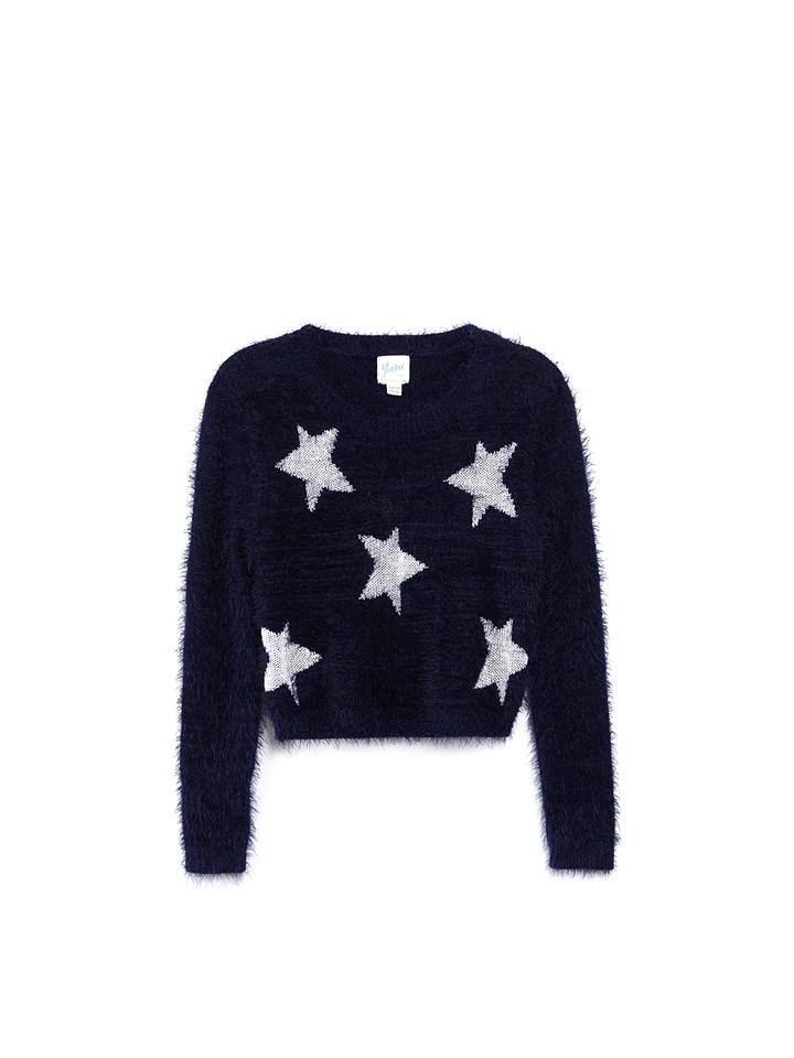 Schmogrow-Fehrow Angebote Yumi Girl Pullover in Schwarz - 55%   Größe 146/152 Kinderpullover strick