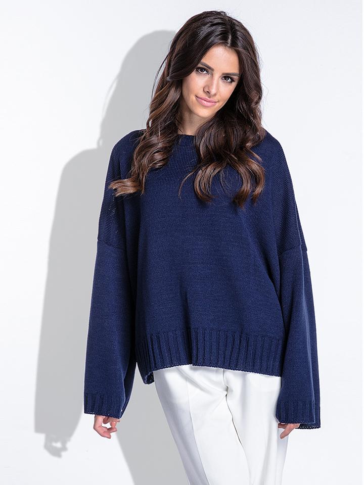 Fobya Pullover in Dunkelblau - 68% | Damen pullover