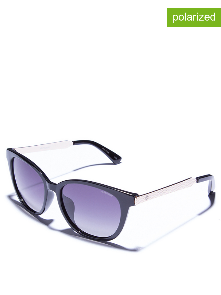 Polaroid Damen-Sonnenbrille in Schwarz - 75%   Größe 56 Damen sonnenbrillen jetztbilligerkaufen