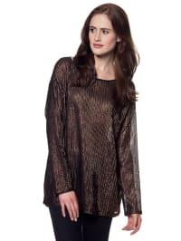 Vero Moda Shirt in Schwarz/ Bronze
