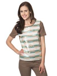 """Vero Moda Shirt """"Sahara"""" in Braun"""