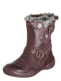 """Primigi Leder-Boots """"Giorgia"""" in Aubergine"""