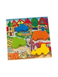 """Selecta 4tlg. Formen-Puzzle """"Fahrzeuge"""" - ab 18 Monaten"""