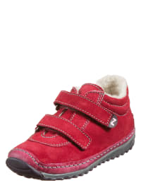 "Naturino Leder-Sneakers ""Crow"" in rot"
