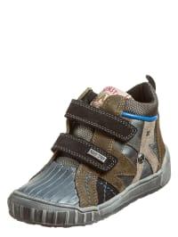 "Naturino Sneakers ""Velino"" in grau/ dunkelblau/ oliv"