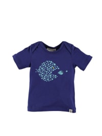 "Kati:ga T-Shirt ""Fishes"" in blau"