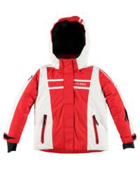 Hyra Ski-/ Snowboardjacke in rot/ weiß