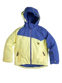"Salewa Funktionsjacke ""Arleas PTX"" in blau/ gelb"