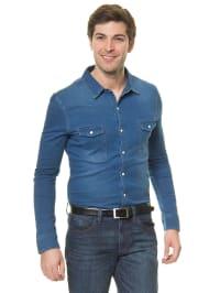 Mexx Jeanshemd in Blau
