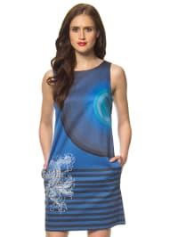 """Desigual Kleid """"Bruk"""" in Blau"""