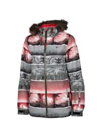 "Chiemsee Ski-/ Snowboardjacke ""Faustina"" in Grau/ Rot"