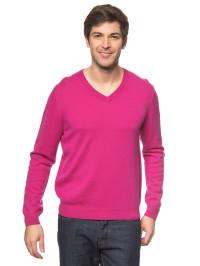 Bluhmod Kaschmir-Pullover in Fuchsia
