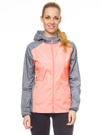 Nike Trainingsjacke in lachs/ grau