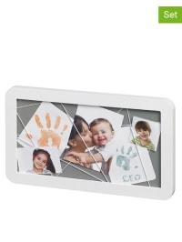 Baby Art 6tlg. Abdruck-Set mit Memoryboard in Weiß