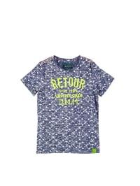 Retour Shirt in blau