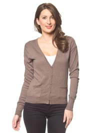 Tom Tailor Cardigan in Taupe