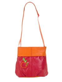 """Zwei Umhängetasche """"Kids K5"""" in Rot/ Orange - (B)23 x (H)21 x (T)8 cm"""
