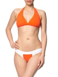 "Matador Triangel-Bikini in ""Monica"" in orange/ weiß"