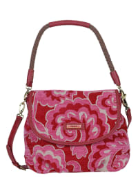 Oilily Schultertasche in rot/ pink - (B)30 x (H)24 x (T)12 cm