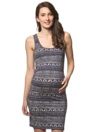 Mama licious Kleid in nachtblau/ weiß