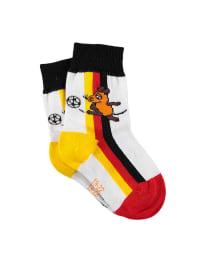 Die Maus Socken in weiß/ bunt