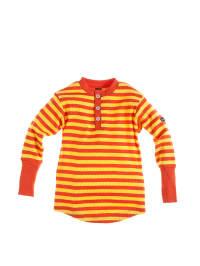 Moonkids Longsleeve in Orange/ Gelb