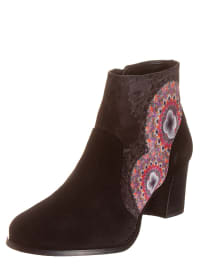 "Desigual Ankle-Boots ""Calei"" in Schwarz/ Bunt"