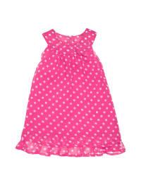 Noppies Kleid in Pink/ Weiß