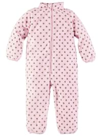 Name it Fleece-Overall in Rosa
