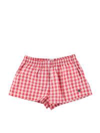 Sanetta Boxershorts in Rot/ Weiß