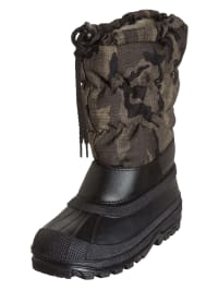 Grünland Junior Winterstiefel in Anthrazit/ Khaki