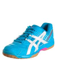 """Asics Hallen-Sportschuhe """"Gel Squad"""" in blau"""