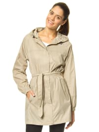 "Trespass Regenjacke ""Compac Mac"" in Beige"