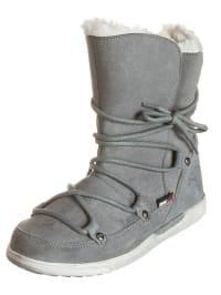 """Kangaroos Leder-Boots """"Kanga-Boot 2011"""" in grau"""
