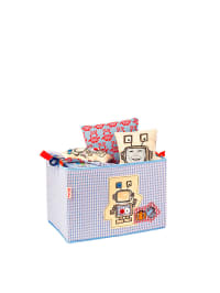 """Käthe Kruse Spielzeugbox """"Uxu"""" in Blau - (B)37 x (H)25 x (T)25 cm"""